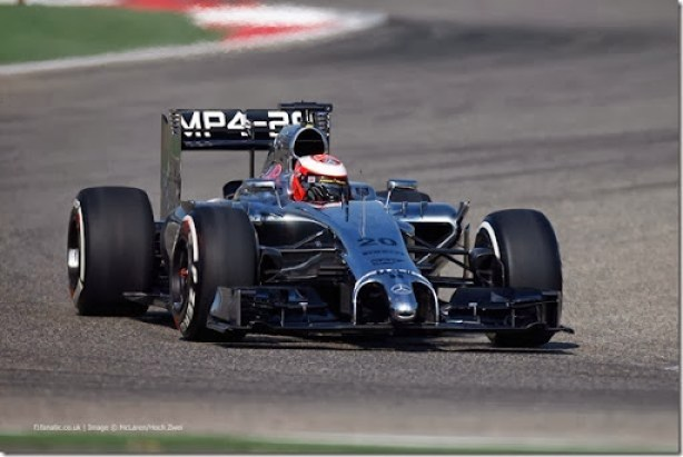 2014 F1 Pre Season Test 2 - Day 1Bahrain Internanational Circuit, Bahrain.Wednesday 19 February 2014.Kevin Magnussen, McLaren MP4-29 Mercedes.World Copyright: Glenn Dunbar/LAT Photographic.ref: Digital Image _W2Q1458