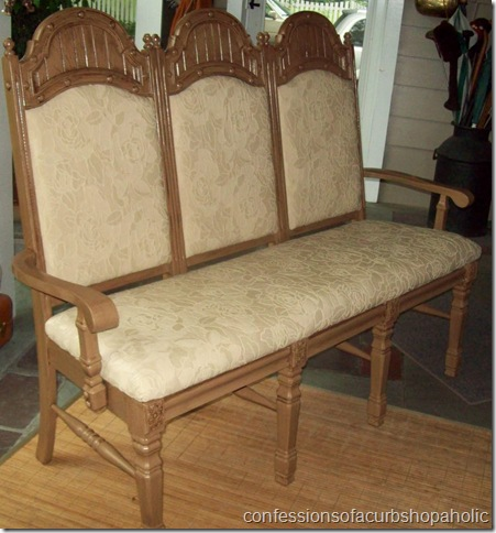 triple chair bench complete 006