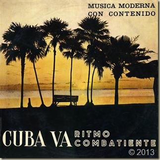 Cuba va - ritmo combatiente - frontal