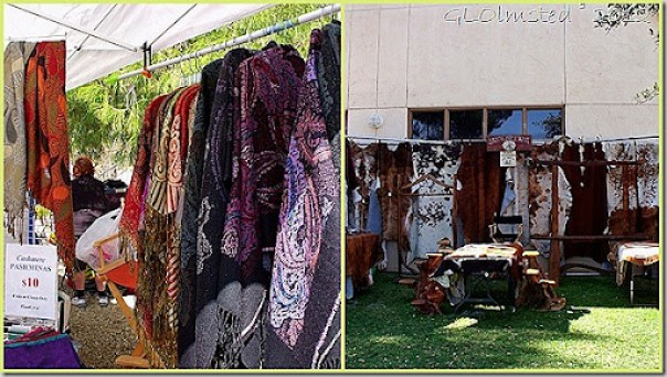 Goods for sale at Gold Rush Days Wickenburg Arizona