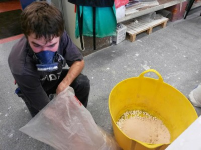 Concrete Casting with Harry