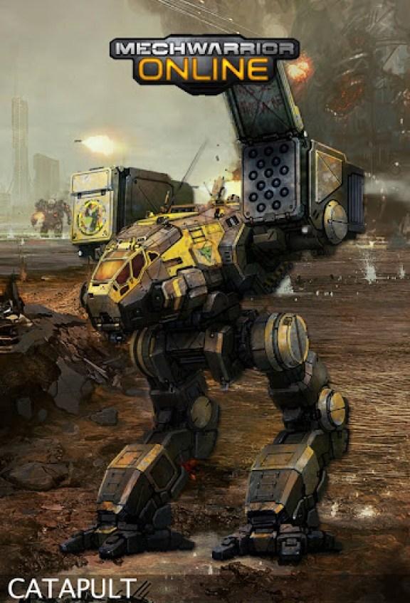 MechWarrior Online Catapult Concept