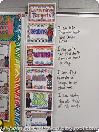learning targets- an array