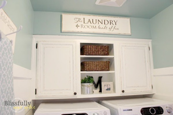 crystal blue and vermont cream by behr paint