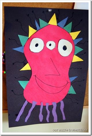 Our Aussie Homeschool ~ Home Art Studio