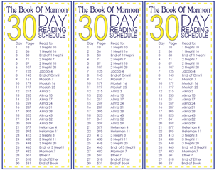 Book-Of-Mormon-30-Day-Reading-Schedule