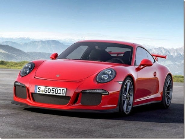 c5e1ee2a43528 A Porsche se abriu a novas tecnologias no desenvolvimento do atual 911 GT3.  A versão, que tem por tradição ser a mais potente com motor naturalmente ...