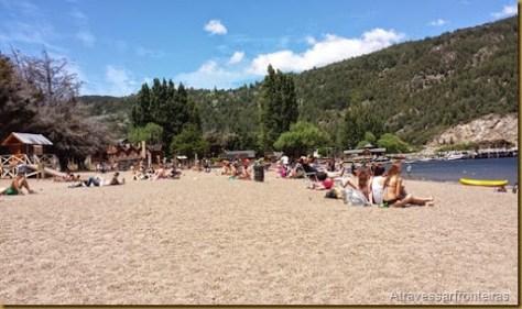 Praia de san martin de los Andes