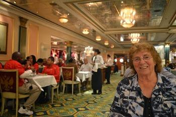 dinner at the  Tsars Palace dining room
