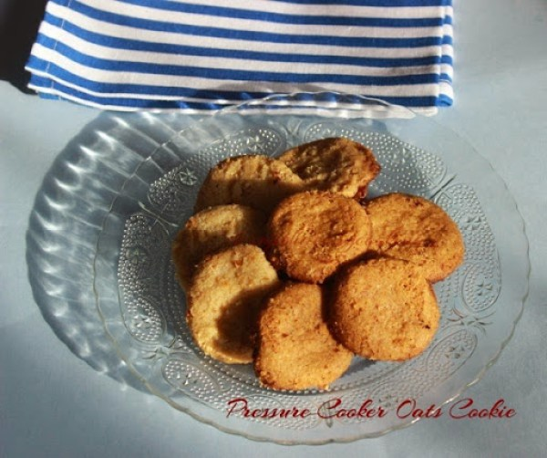 Pressure Cooker Oats Cookie1