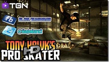 Tony Hawk's Pro Skater HD – #Gameplay Comentado