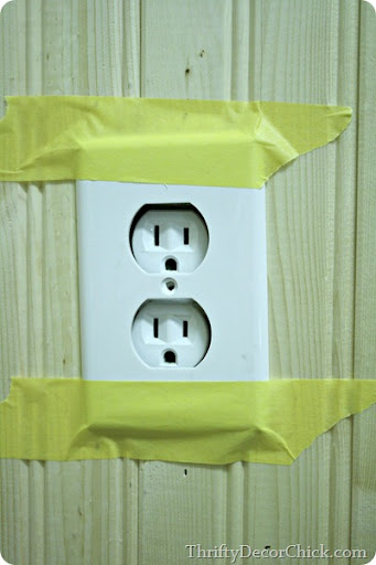 Outlet Cover Not Flush With Wall : outlet, cover, flush, Making, Outlet, Switch, Flush, Thrifty, Decor, Chick