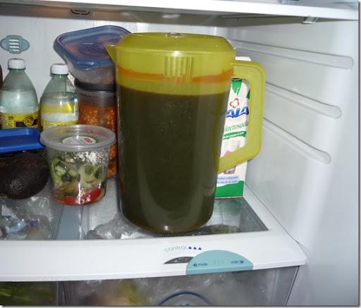9.- Guárdala en el refrigerador