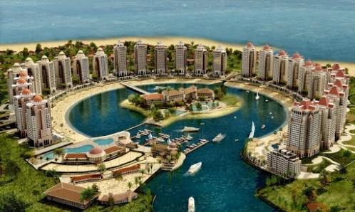 Pearl-Qatar, A Luxurious Artificial Island   Amusing Planet