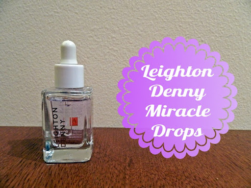 leighton deny nail drying miracle drops