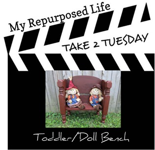 take 2 tuesday toddler-doll bench