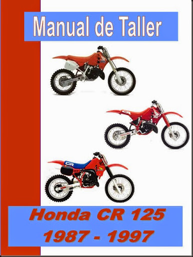 manual taller honda cr 125 _87_97