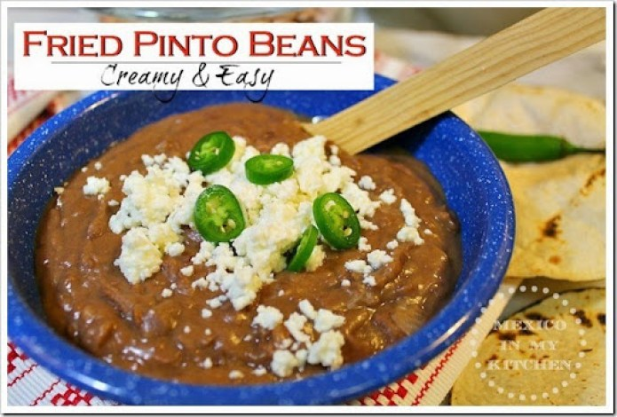 fried pinto beans -1