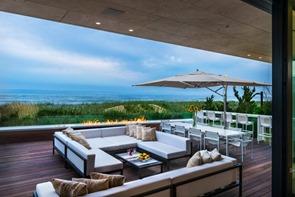 decoracion-terraza-Casa Daniel's Lane Blaze Makoid Arquitectura