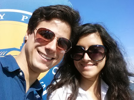 Me & Ellie on Navy Pier
