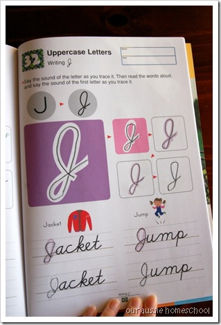 Kumon Cursive ~ Our Aussie Homeschool