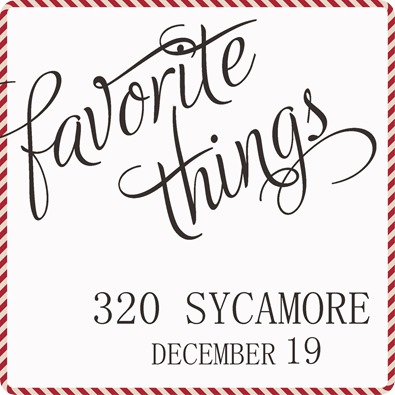 favorite things 2013