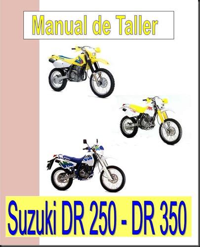 manual taller suzuki dr 250 dr 350
