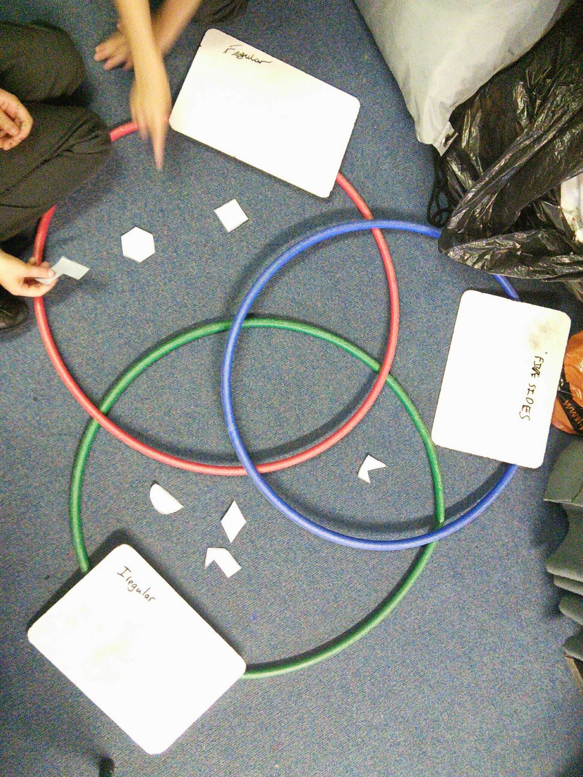 venn diagram sorting shapes harley davidson youtube cromer junior school y3 2d
