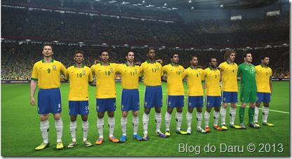 Uniforme oficial da Seleção Brasileira