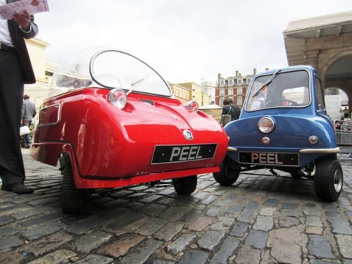 Alizul: PEEL P50 AND PEEL TRIDENT: THE WORLD'S SMALLEST CARS