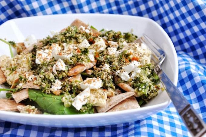 greek pita salad (1)