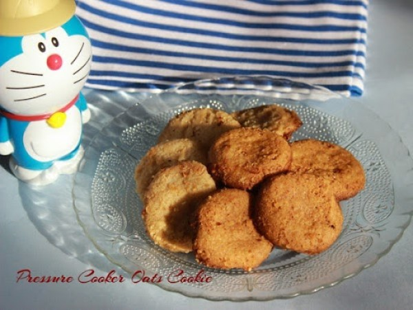 Pressure Cooker Oats Cookie2