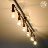 How To Make A Fabulous Plumbing Pipe Light Fixture