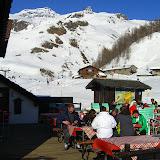 After ski deck