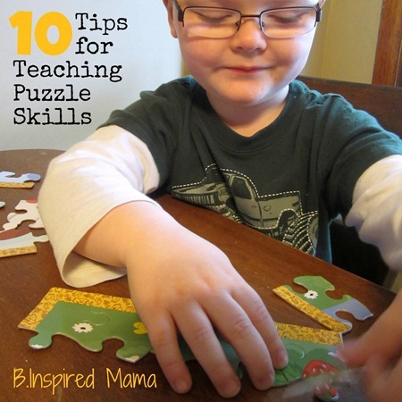 10 Tips for Teaching Puzzle Skills