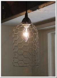 Anthropology Inspired Pendant Light - DIY Talent Shabby ...
