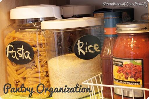 kitchen organization pantry organization