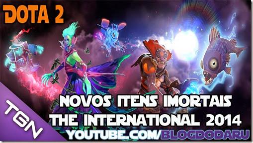 Dota 2: Immortal Strongbox - Novos itens #TI4