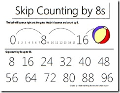 Skip Counting Printables @ Homeschool Creations