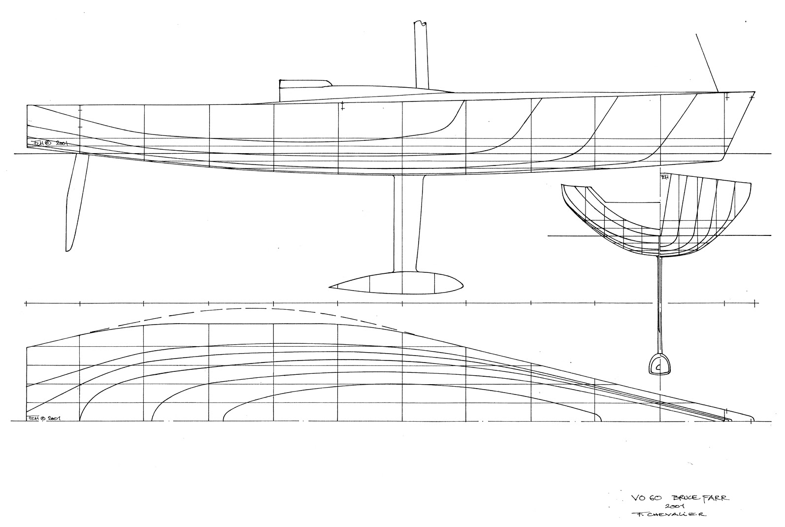 hight resolution of donan raven s sailing trivia volvo ocean race yacht designs by fran ois chevalier