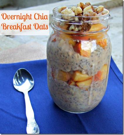 Overnight Chia Oats