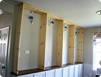 How to build built ins from Thrifty Decor Chick