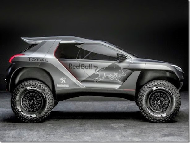 Peugeot 2008 DKR revealed in Nanterre, France on March 28th, 2014  Peugeot returns to Dakar 2015 // Flavien Duhamel/Red Bull Content Pool // P-20140414-00185 // Usage for editorial use only // Please go to www.redbullcontentpool.com for further information. //