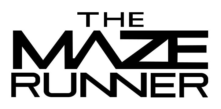 MAZE RUNNER: Logo de LA película: Maze Runner