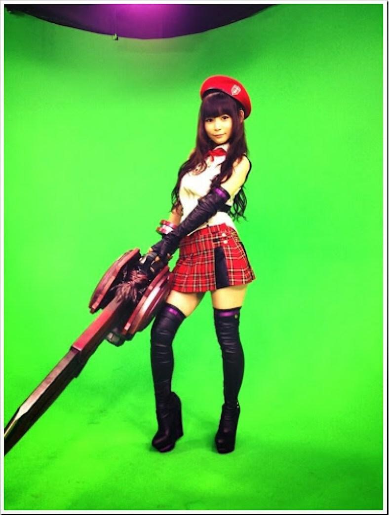 Nakagawa Shouko (Shokotan) – cosplay de God Eater Alisa Amiella 04