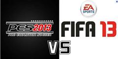 Pro Evolution Soccer 2013 x Fifa 13