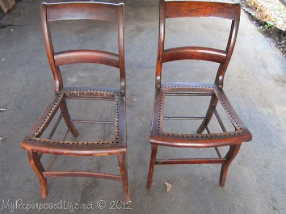 chairs to bench