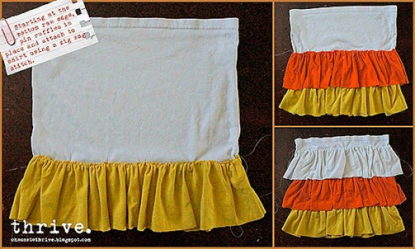 Candy Corn Skirt Refashion Choose To Thrive 10