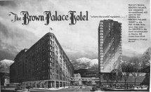 Streets Of Denver Vintage Colorado Toursim Ads
