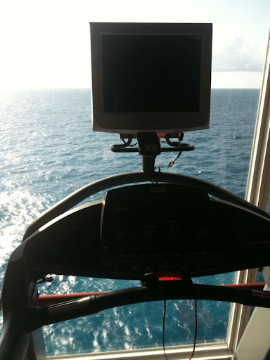 Treadmill on the ocean!!